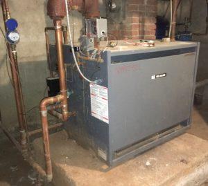 Caroline Town Hall boiler 2019