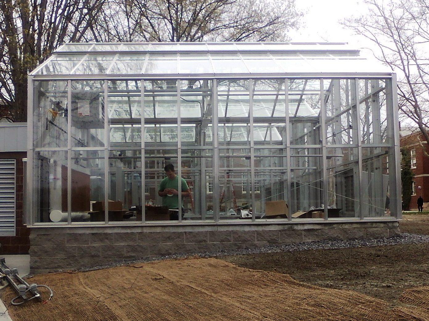 BOWERS GREENHOUSE – SUNY CORTLAND