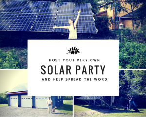 Solar partytitle